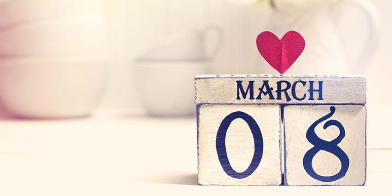 С праздником весны, наши дорогие и любимые!