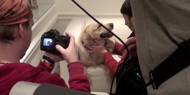 Видео: как голден Санечка снималась в клипе группы